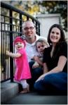 Dan Crain and his family.