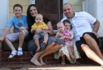 Dan Crain and his family in Atlanta.